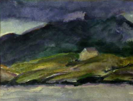 IRELAND watercolour on paper