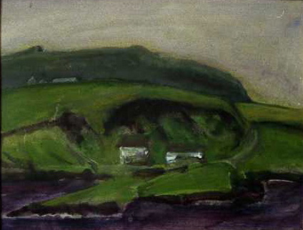 Co. KERRY, IRELAND acrylic on paper 25 x 29 cm