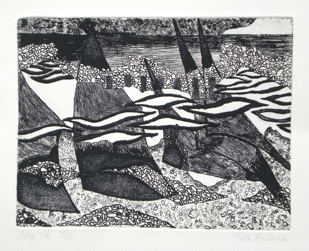 NEAP TIDE etching
