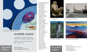 Invitation to Mandell's Gallery, Elm Hill, Norwich