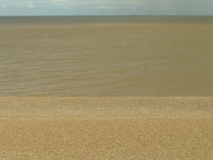 The ever changing view, Aldeburgh beach