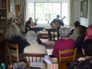 The Dulwich Guitar Duo - Rod Faulkener and Tim Crampton